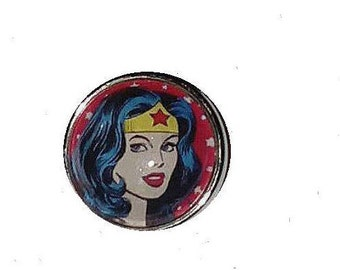 Snap glass Wonder Woman