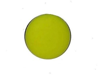 Yellow neon 18mm snap button