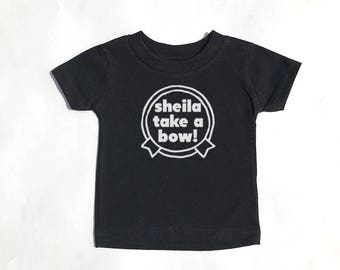 Smiths - Sheila Take A Bow! shirt for toddlers and kids