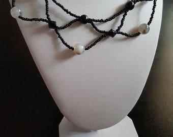 Handmade beaded necklaces