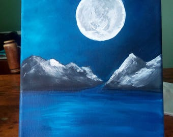 Mountain, Sea, and Moon