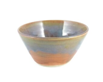 Sunset and Ocean - small bowl - rice bowl - pottery bowl