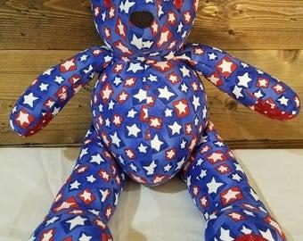 July 4th teddy bear