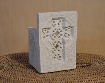 Cross Candle Votive, Luminary Candle Votive