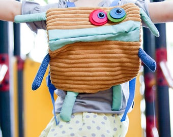 Cloth rucksack, Kindergarden, nursery