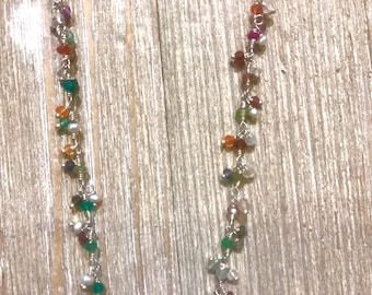 Dripping in Color Necklace
