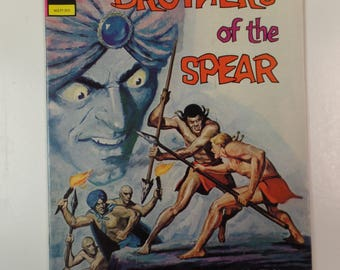 Gold Key Comics Brothers of the Spear # 4 1972 Vintage Comic Book