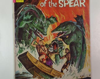 Gold Key Comics Brothers of the Spear # 8 March 1974 Vintage Comic Book