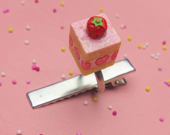 Strawberry Mille Feuille Ring