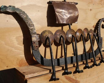 Viking Dragon Boat Etsy