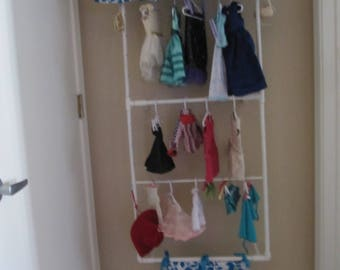 American Girl Doll Clothes Storage; AG Clothes Rack; Clothes Organizer; American Girl Doll Clothes Display