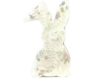 Wood Easter Bunny - Easter Bunny - Easter Decorations - Spring Decorations - Spring Decor - Easter Decor - Shabby Chic - Easter Gift Ideas