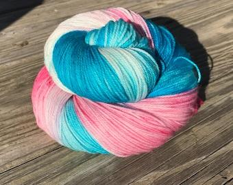 Kettle dyed Superwash Sock Yarn