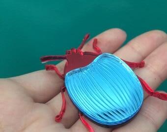 PIN insect jewelry, plexiglass, plexiglass jewelry