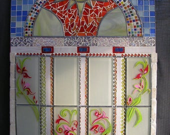 Sun-glass-ceramic-stone-stained glass mosaic