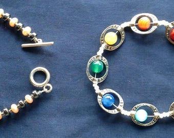 Precious / Semiprecious Stones Bracelet