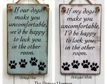 Wood Dog Sign, family, rustic wood sign, love sign, porch wood sign, dog home decor, dog art, fur baby, porch sign, wood sign sayings, dog