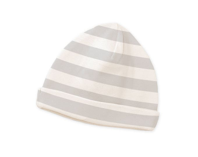 Newborn Gray Stripe Baby Hat, Baby Hat for Girls, Baby Boy Beanies, Baby Beanies Gray Striped Tesa Babe CP630GI000000