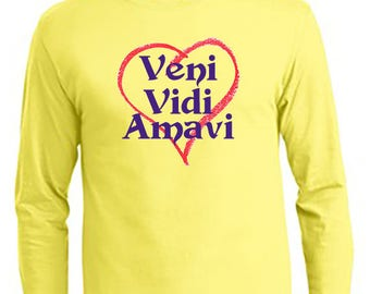Veni Vidi Amavi - We Came, We Saw, We Loved Women's T-Shirt