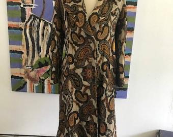 Bohemian Hippie Tapestry Coat