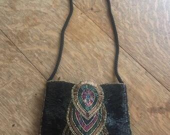 Beaded Handbag by La Regale