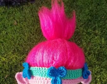 Princess Poppy-Inspired Troll Hat Pattern