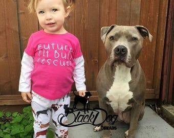 Pitbull Shirt for Kids, Pit Bull Shirt for Kids, Pit Bull Rescuer, Kid's Dog Shirt, Pittie Shirt, Dog Rescue, Pitbull Rescue