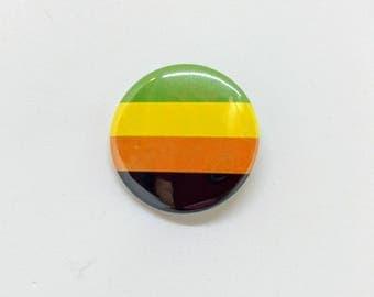 "1.5"" Aromantic Button Aromantic Pride Button Aromantic Flag Button Aromantic Pride Flag Button Queer Pride Gay Pride LGBTQA LGBT"