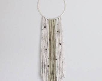 Yarn Wall Hanging - Gold Ring
