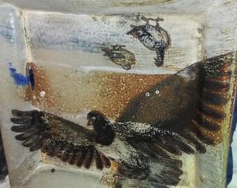 California Wildfires Donation Pigeon Platter
