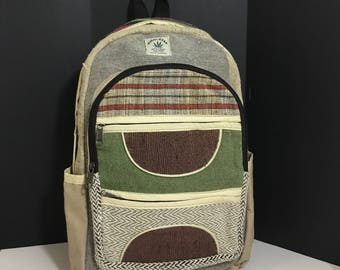 Pure Hemp Eco Friendly 100% THC Free Backpack