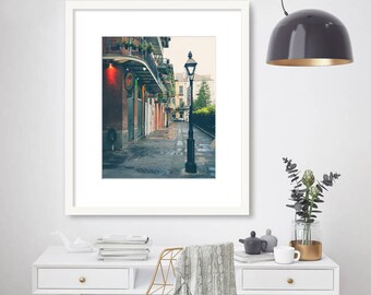 New Orleans Photography, Pirates Alley, French Quarter, Black and White, NOLA, Travel Decor, Fine Art Print, Wall Art, Home Decor