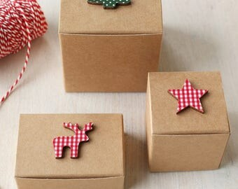 Christmas gift box etsy negle Image collections