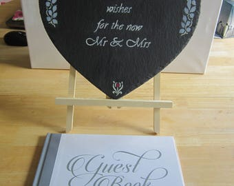 Capture your special day forever with these guest book items.