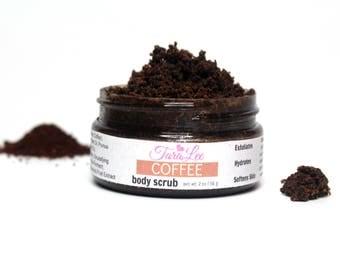 Coffee Scrub - Exfoliating Coffee Scrub - Coffee Body Scrub, Coffee Face Scrub, Moisturizing Coffee Scrub, Best Coffee Scrub, TaraLee