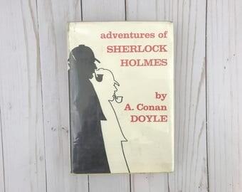 Adventures Of Sherlock Holmes - A Conan Doyle - Watson - Sherlock - Mystery Book - Classic Literature - Mystery Vintage Book