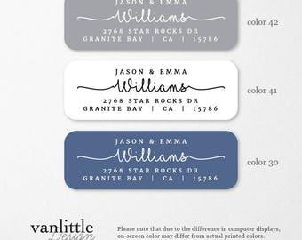 Personalized Return Address Labels, Custom Self-Adhesive Labels, Return Address Stickers, Return Address, Return Labels, RAL28