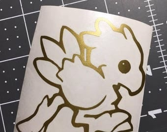 Final Fantasy - Chocobo Decal