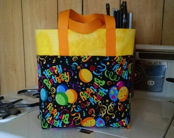 Childrens Reusable Birthday Gift Bag Ladies Mens Boys Reusable Birthday Gift Bag
