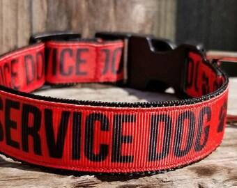 COLLAR - Paw<--Service Dog Collar