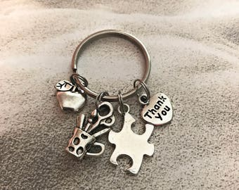 Special Education Teacher Gifts for Sped Teacher Gift Special Ed Teacher Gift Teacher Gifts Autism Teacher Gift Puzzle Piece Keychain