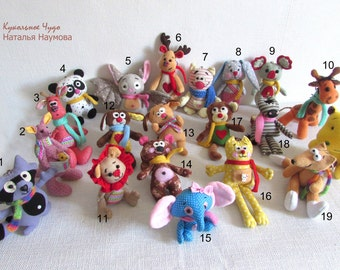 a gift for Christmas, a gift for a child, a birthday present, textile toys, rag dolls, handmade toys