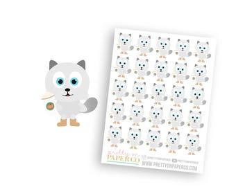 Basic Baymax - Planner Stickers