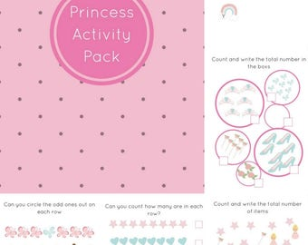 Educational printables ,Princess kids games Worksheets Activities