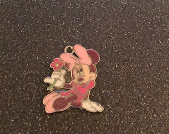 Minnie Mouse with flower charm
