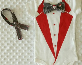 Christmas, onesies Christmas, My First Christmas, Baba clothing Set, bow tie Christmas, Christmas Outfit, bow tie, Xmas