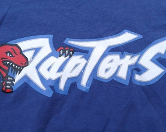 Vintage Toronto Raptors t-shirt purple Made in Canada XL