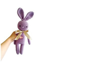 READY TO SHIP: crochet bunny - amigurumi bunny - rabbit - crochet toy - handmade - gift for kids