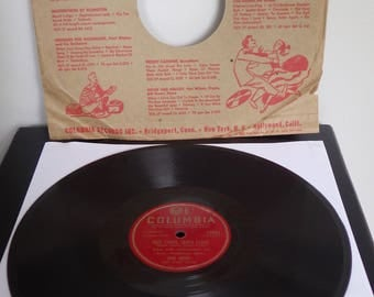 Here Comes Santa Claus by Gene Autry 78rpm Record