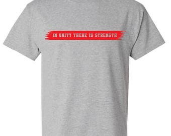 Red Line Flag Two Sided T-Shirt, Firefighter Red Line